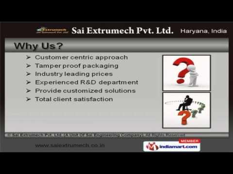 Extrusion Equipment by Sai Extrumech Pvt. Ltd (A Unit Of Sai Engineering Company), Faridabad