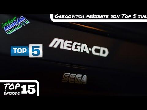 [Top 5 #015] Les 5 (presque) meilleurs jeux Mega CD selon Gregovitch