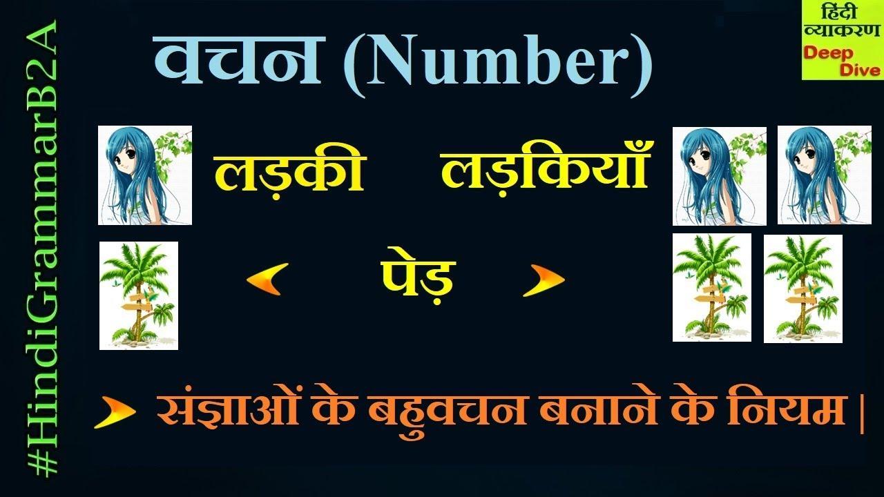 Vachan Hindi Grammar | Vachan badlo | Hindi Grammar Vachan