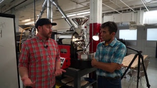 Roaster School Online - #15 - Derek and Joe Roast on a North 1kg