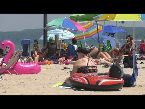Concern about overcrowding at Ontario's popular Wasaga Beach