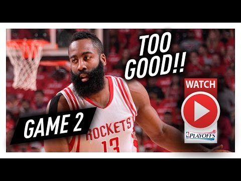 James Harden Full Game 2 Highlights vs Thunder 2017 Playoffs - 35 Pts, 8 Ast, ON A MISSON!
