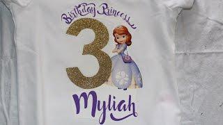 EASY Birthday Shirt DIY! NO CRICUT MACHINE JUST A HANDMADE SHIRT