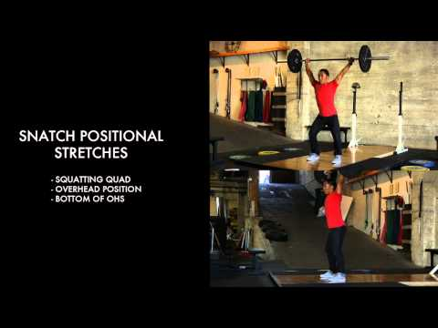 Snatch Positional Stretches