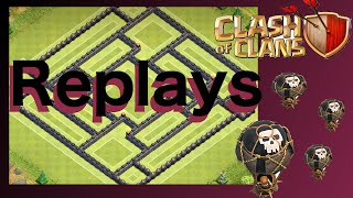 "(REPLAYS) - TH10 Farm/Trophy Base ""ArrowCave"" - Clash Of Clans (275 Walls)"