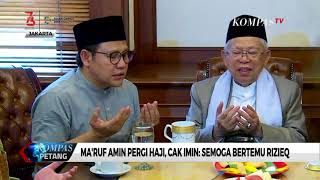 Download Video Ma'ruf Amin Pergi Haji, Cak Imin: Semoga Bertemu Rizieq MP3 3GP MP4