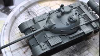 T-54A by Trumpeter in 1/35  Photo Build