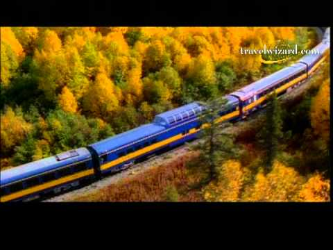 Alaska Luxury Rail Train Vacations,Video