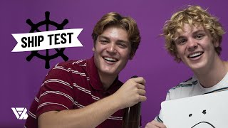 Jack and James Wright Play Ship Test YouTube Videos