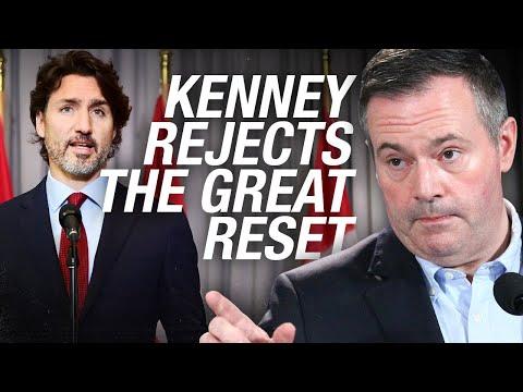 "WATCH: Alberta Premier Jason Kenney REJECTS ""The Great Reset"""
