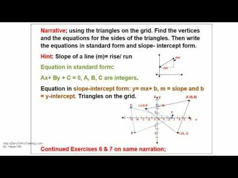 Grade 9 Math Segment 3 Unit 8 Analyzing Linear Relations 2
