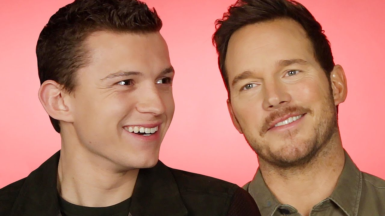 Tom Holland And Chris Pratt Find Out Which Marvel/Pixar Combo They Are