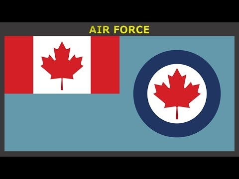 Flags Of Canadian Armed Forces