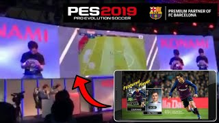 Pes 19 Mobile Official Gameplay By Konami | Official Gameplay Leaked  | gameplay test | Pes365
