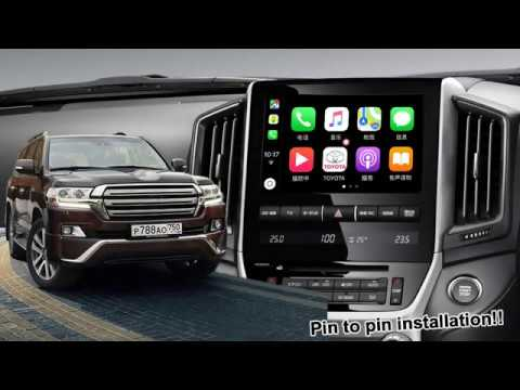 Toyota Land Cruiser (LC200) Carplay Android Video Interface By Lsailt