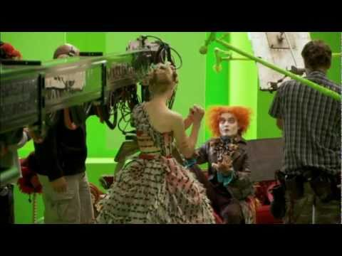 Johnny Depp Changing Into The Mad Hatter Youtube