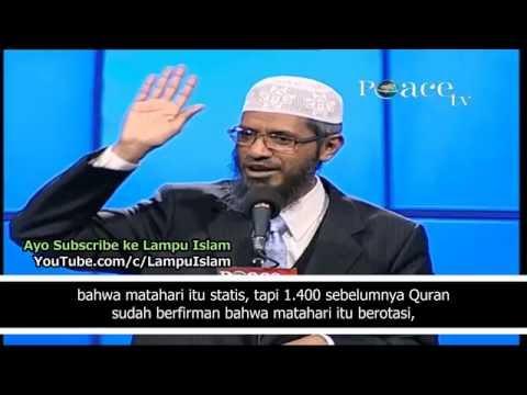 Dr. Zakir Naik Membuktikan Keberadaan Tuhan Hanya Dalam 30 Menit! from YouTube · Duration:  31 minutes 2 seconds