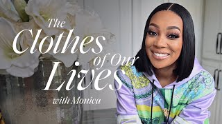 An Inside Look At Monica's Iconic Closet | The Clothes of Our Lives | ELLE