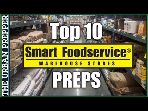 Top 10 Bulk Preps at Smart FoodService Warehouse (Cash & Carry)