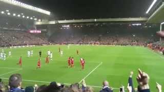 Liverpool - Bordeaux Parcage Girondins (26/11/201