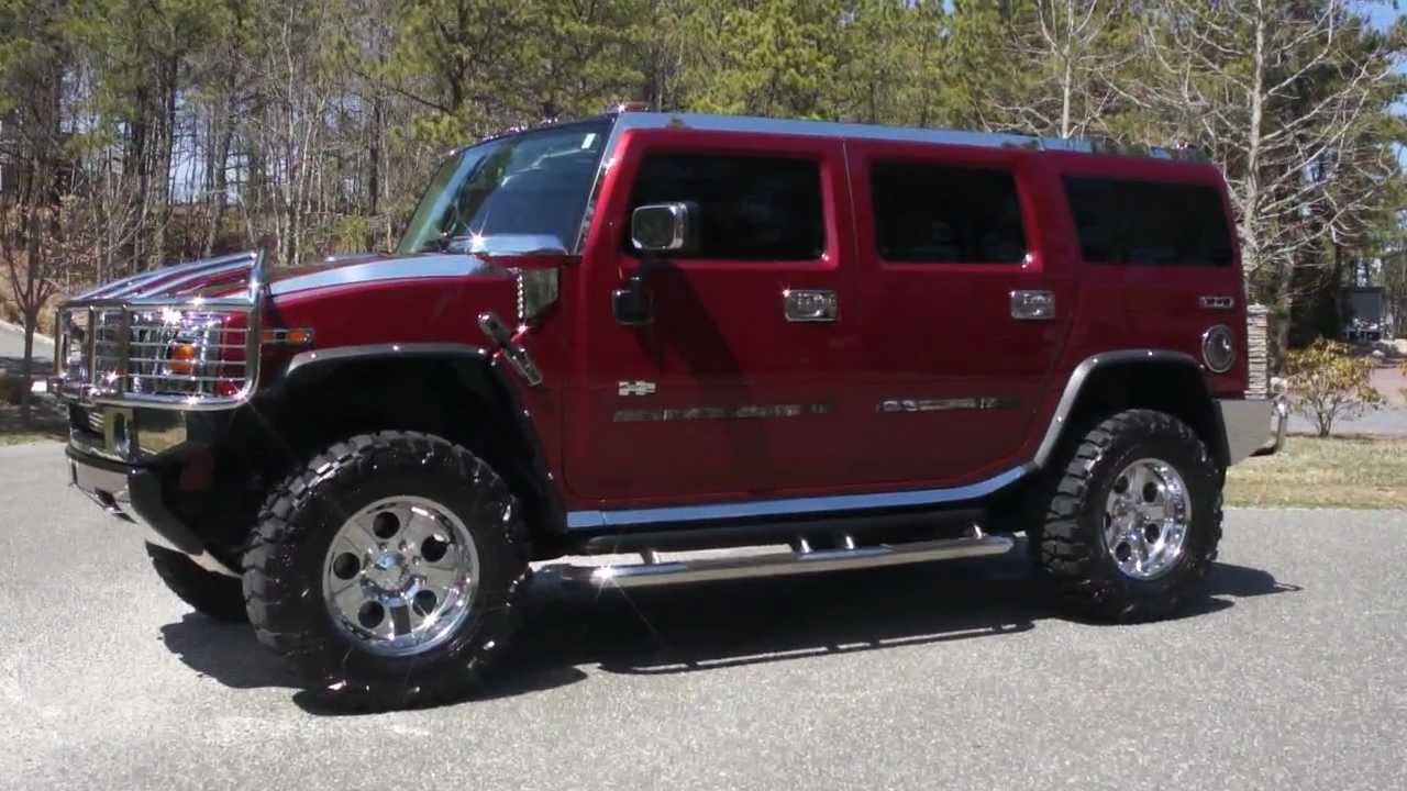 sold 2003 hummer h2 luxury for sale custom rims chrome. Black Bedroom Furniture Sets. Home Design Ideas