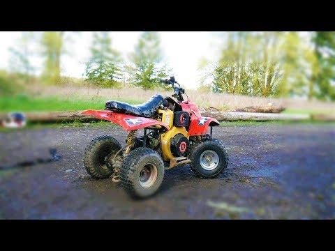 I put a DIESEL engine on a kids ATV/QUAD