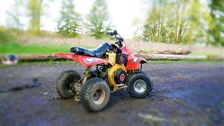 I put a DIESEL engine on a kids ATV/QUAD