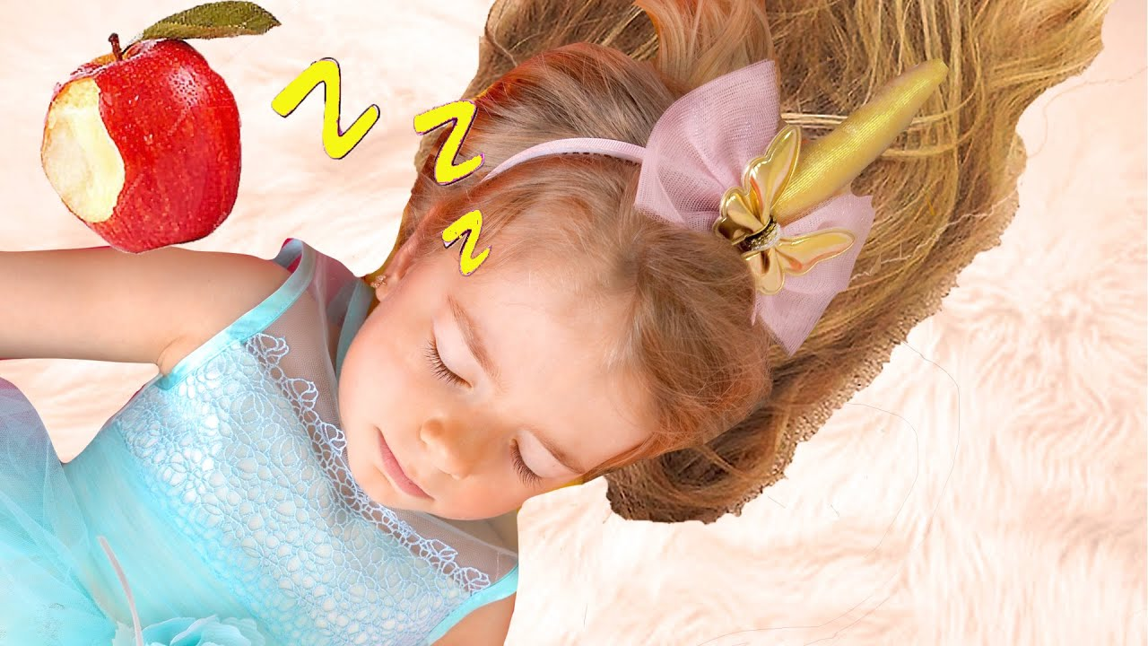 Anabella and her Sleeping Beauty story