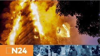 N24 Nachrichten - Flammenhölle in London: Mehrere Tote – Rettungskräfte in 20. Etage vorgedrungen