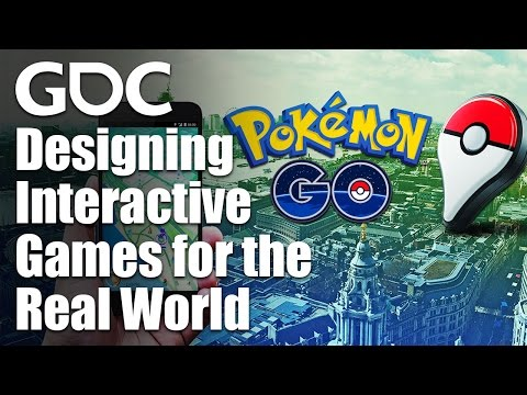 Pokemon Go & Designing Interactive Games for the Real World