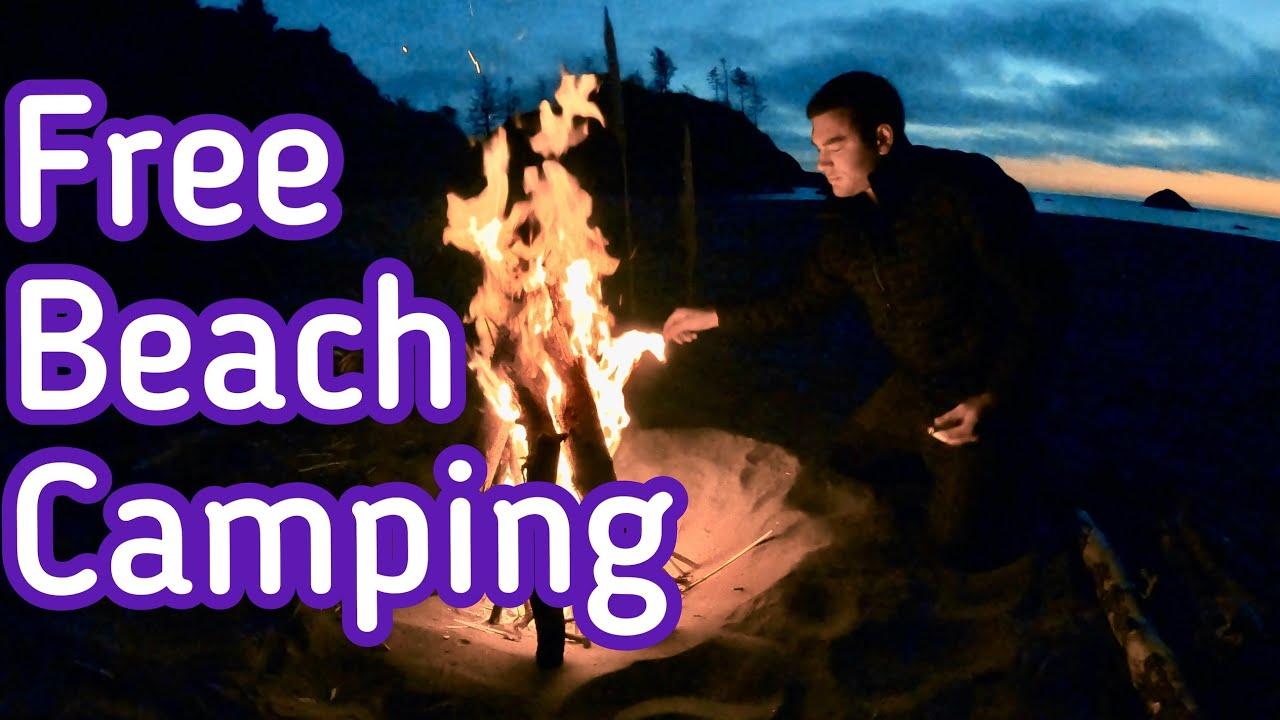 HIDDEN BEACH CAMP SPOT California free camping: Exploring ...