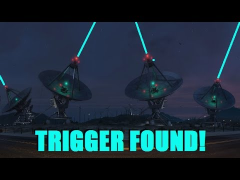 FOLLOWING THE SATELLITE ARRAY PATH! (Trigger Found!) - GTA 5