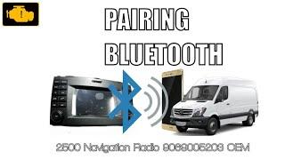 Parowanie Bluetooth w Mercedes-Benz Sprinter , Dodge sprinter lub Metris Van- parowanie Bluetooth