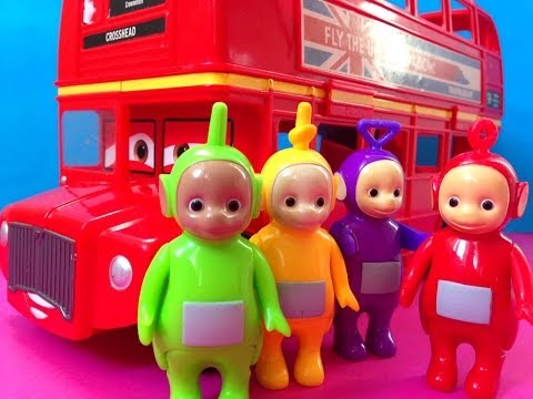 Thumbnail: Teletubbies and Cars 2 Bus Kids Toys