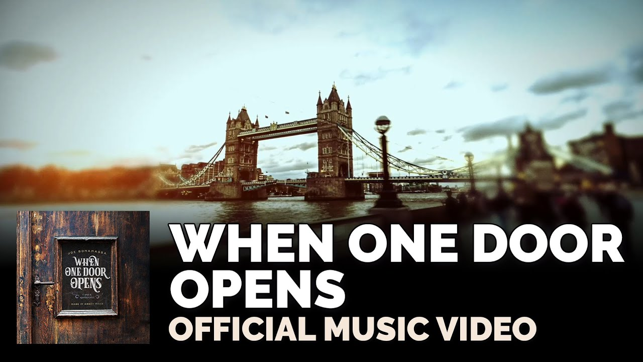 "Joe Bonamassa Official - ""When One Door Opens"" Official Music ..."