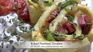 Baked Omelet Recipe (pinwheel Omelets)
