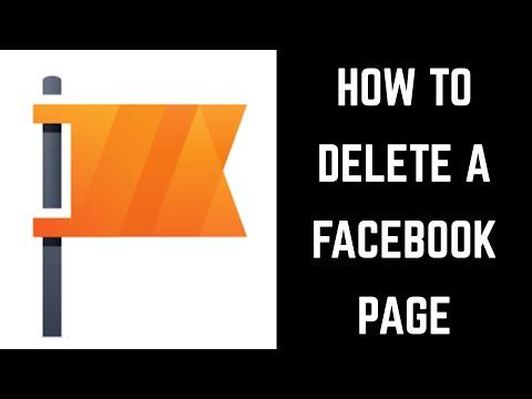 Вопрос: Как удалить фан страницу на Facebook?