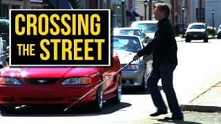 How Blind People Cross The Street Alone