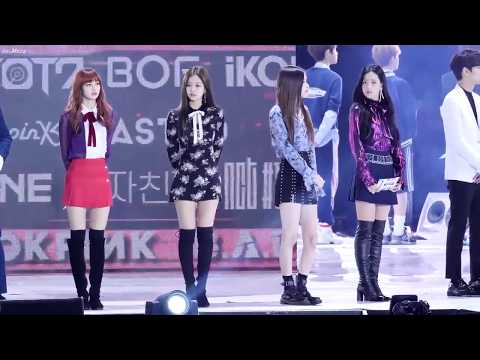 171022 BLACKPINK at Busan One Asia Festival BOF 2017 (lisa,jennie,rose and jisoo moment)