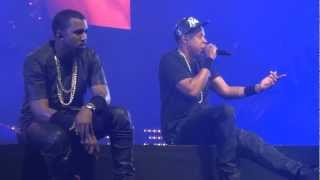 Jay Z & Kanye - Hard Knock Life - Watch The Throne Tour - UK (HD)