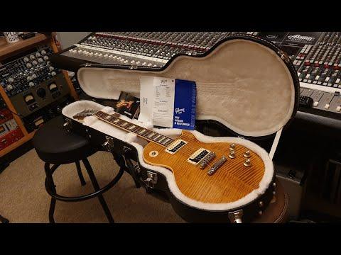 Gibson Slash AFD Les Paul Signature Appetite For Destruction 2010 Up Close 600 Guitar Video Review