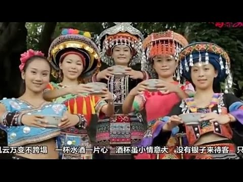 Ling Vaj Hmoob Zaj Nkauj Txais Tos Qhua 汪玲 《苗族迎宾曲》 苗族歌曲 H