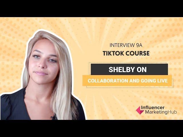 How To Find The Best TikTok Collaborations - Free TikTok Course - Module 9A  - Interview