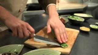 Семга с гарниром из риса, тушенного с овощами