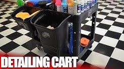 The Best Auto Detailing and Car Wash Supply Cart