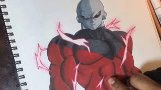 como dibujar a jiren / how to draw jiren (dragon ball super)