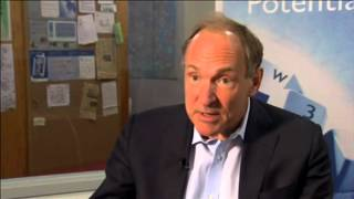 Inventor Talks World Wide Web and How it Makes People Powerful