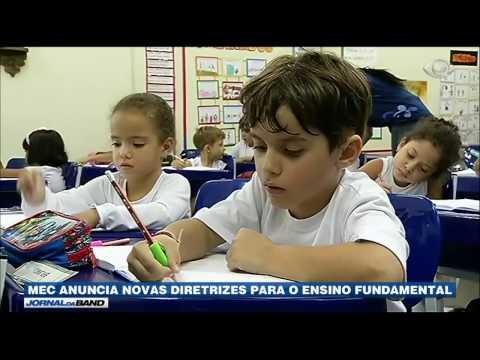 MEC anuncia novas diretrizes para o ensino fundamental
