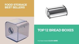 Top 12 Bread Boxes // Food Storage Best Sellers