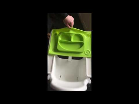 EasyMat on ikea high chair